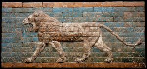 babylonian lion